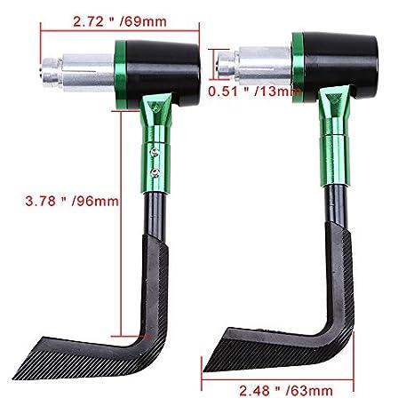 per leve del freno Anay leve della frizione e per le mani universali protezione per maniglie di manubri di moto sistema Proguard 22/mm