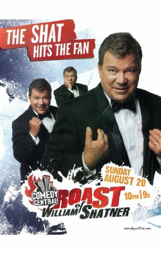 comedy-central-roast-of-william-shatner-movie-poster-11-x-17