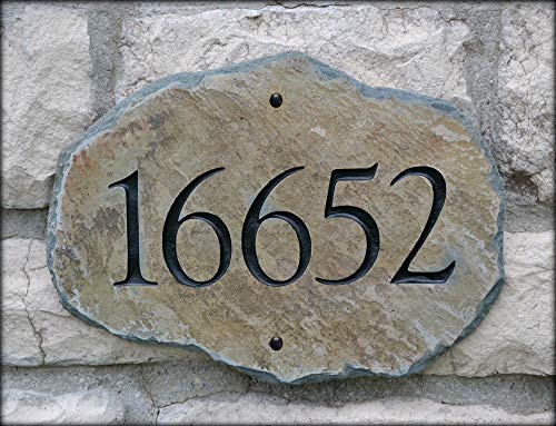 (House Numbers Address Stone/Carved)