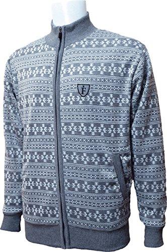 フルZIP防風セーター