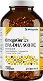 Metagenics OmegaGenics EPA-DHA 500 EC Soft Gels, 240 Count