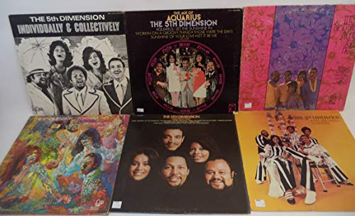 The 5th Dimension Lot of 6 Vinyl Record Albums Portrait and more