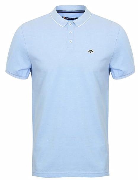 Le Shark Hombres Polo Camiseta tee Piqué Diseñador Ajuste Corto ...
