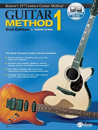 (Belwin's 21st Century Guitar Method, Bk 1: The Most Complete Guitar Course Available, Book & Online Audio (Belwin's 21st Century Guitar Course))