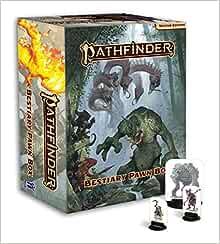 New Book Bestiary 6 Box Pathfinder Pawns Staff Paizo