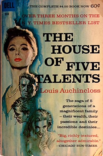 The House Of Five Talents by Louis Auchincloss