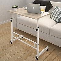 Generic k Wheels C Desk Rack ack Whee Bedside Laptop e Laptop Adjustable Side Table ge Beds Wheels Computer Stand Table Be Bed Storage