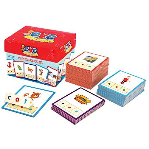 51sBN8QiqWL - Junior Learning CVC Word Builders Activity Cards
