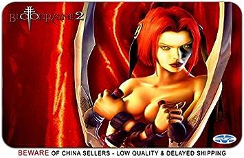 Amazon Com Bloodrayne Game Stylish Playmat Mousepad 24 X 14