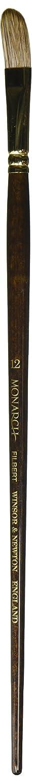 Size 4 Winsor /& Newton Monarch Round Long Handle Brush