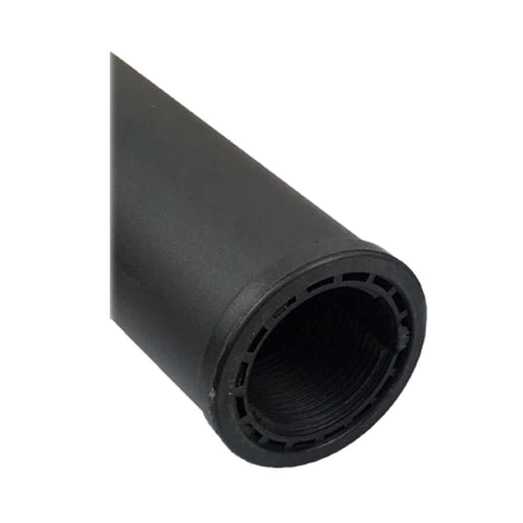 GONGFF Patas de Mesa de Vidrio Grueso Negro Patas de Mesa Patas de Mesa de caf/é Patas de Mesa de Barra Varilla de Soporte de Hardware con Pastel de Aluminio Ajustable