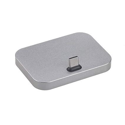 LaDicha Estación De Carga Tipo C USB Cargador Base De ...