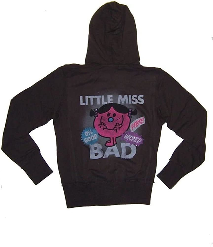 Junk Food Girls Little Miss Bad Zip Up Hoodie