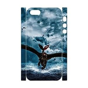 LSQDIY(R) toothless dragon iPhone 5,5G,5S DIY 3D Case, Brand New iPhone 5,5G,5S 3D Plastic Case toothless dragon