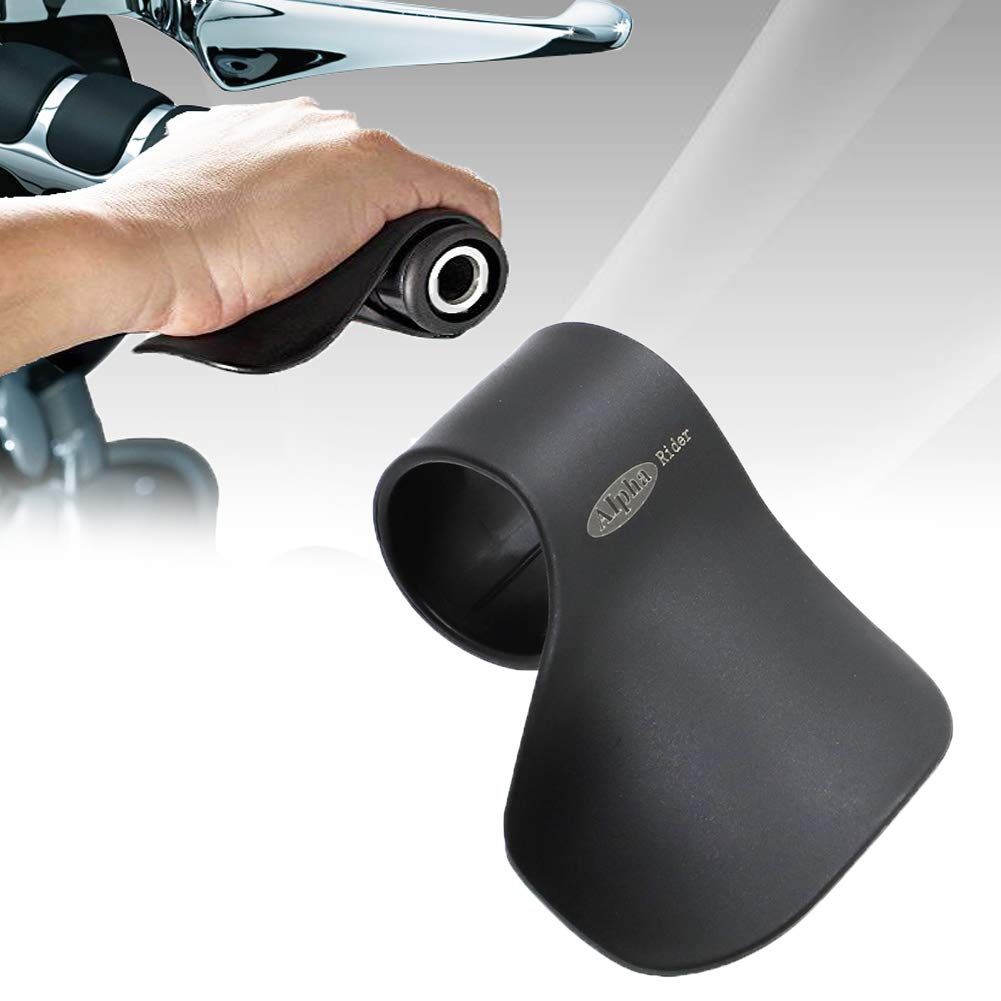 """Alpha Rider Cruise Throttle Assist For 7/8"""" Handlebar Universal Motorcycle Throttle Mounted Assist Oil Control For Street Bike Sport Off Road Scooter Naked ATV 22MM Handlebar"""