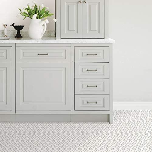 color blanco y blanco Azulejos de celos/ía WallPops FP2946