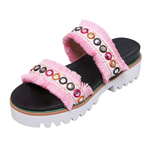 Caviglia Pink UH Donna sulla Aperte qHECxnSw4R