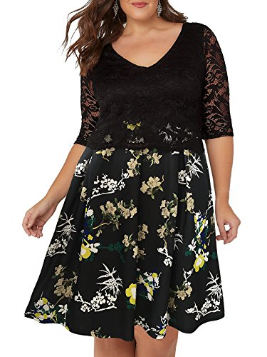 2 in 1 dress plus size - 3