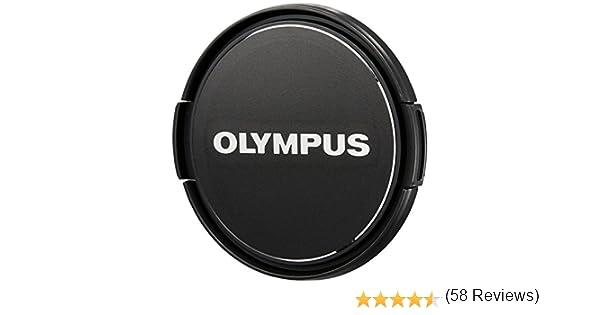 JJC Tapa de objetivo de 46 mm 2 unidades snap-on tapa de lente para c/ámaras Canon Nikon Sony Olympus Fujifilm lentes con 46mm rosca Reemplaza Olympus LC-46