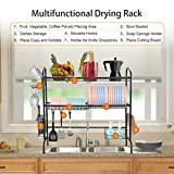 Over The Sink Dish Drying Rack, WeluvFit 3 Tier