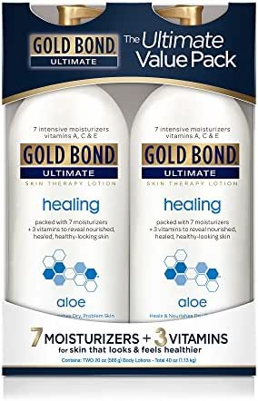 Gold Bond Ultimate Healing Skin Therapy Lotion with Aloe, 2 pk./20 oz.