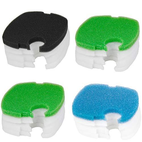 Aquaneat Canister Filter Pads for SUNSUN HW-304B/404B/704B/3000 CF500 Polar Aurora Bio Sponge Replacement Aquarium Filter Media (Best Aquarium Filter Media)