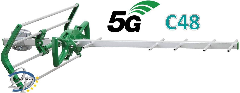 Antena TDT-UHF Nano HDTN-694V LTE 5G Ikusi