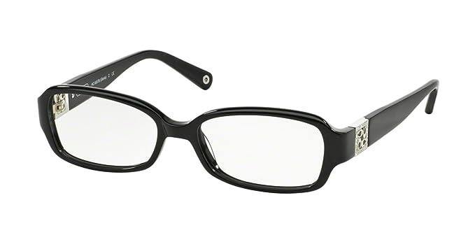 6ab55cc802 Coach Gloria Eyeglasses HC6007B 5002 Black Demo Lens 54 16 135 ...