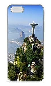 iPhone 5 5S Case Brazil Rio De Janeiro PC Custom iPhone 5 5S Case Cover Transparent