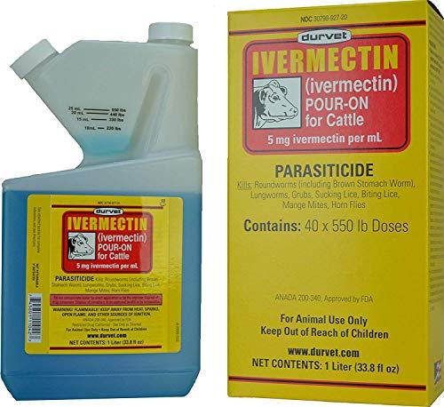 Ivermectin Injection (Durvet Ivermectin Pour On 1 Lt)