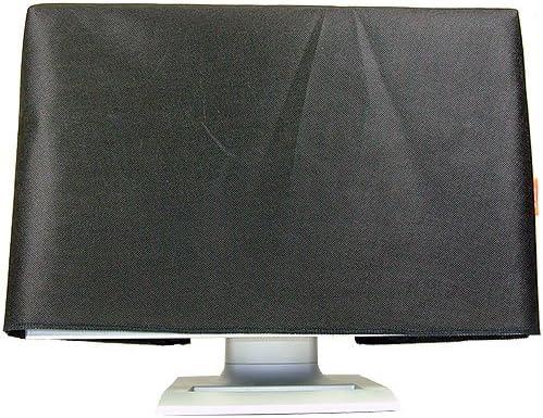 ROTRi ma/ßgenaue Staubschutzh/ülle f/ür Monitor HP 24o Made in Germany schwarz