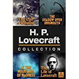 H.P. Lovecraft Collection: The Call of Cthulhu, The Shadow Over Innsmouth, At the Mountains of Madness, and The Life of Lovec