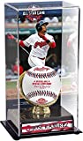 Sports Memorabilia Jose Ramirez Cleveland Indians 2018 MLB All-Star Game Gold Glove Display Case with Image - Baseball Free Standing Display Cases