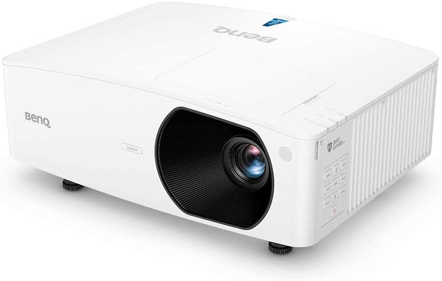 BenQ LH710 1080p DLP Lamp-Free Laser Projector, 4000 ANSI Lumens, Color Accurate, Maintenance-Free 24/7 Operation, 20,000 Hour Laser Life, Network Control, HDMI