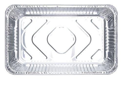 DOBI (15-Pack) Full-Size Deep Chafing Pans - Disposable Aluminum Foil Steam Table Deep Pans, Full Size - 20 1/2'' x 12 1/2'' x 3 1/4'' by DOBI (Image #4)