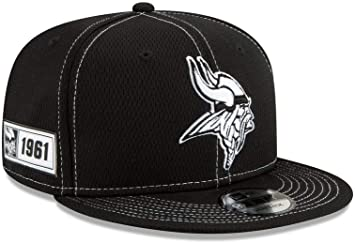 New Era 9Fifty Snapback Cap Minnesota Vikings schwarz grau
