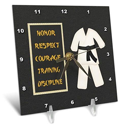 3dRose dc_180798_1 Karate Karategi Uniform Black
