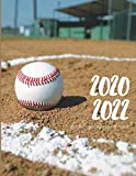 2020-2022 Three 3 Year Planner Baseball Game Monthly Calendar Gratitude Agenda Schedule Organizer: 36 Months Calendar; Appointment Diary Journal With ... Notes, Julian Dates & Inspirational Quotes
