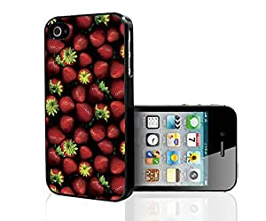 Strawberry Patch Hard Snap on Phone Case (iPhone 4/4s)