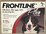 Merial Frontline Plus for Dogs, 89-132 Lb, 3 Doses