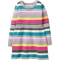 Gymboree Little Girls' Long Sleeve Striped Sweater Dress
