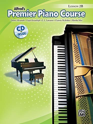 Premier Piano Course Lesson Book, Bk 2B: Book & CD