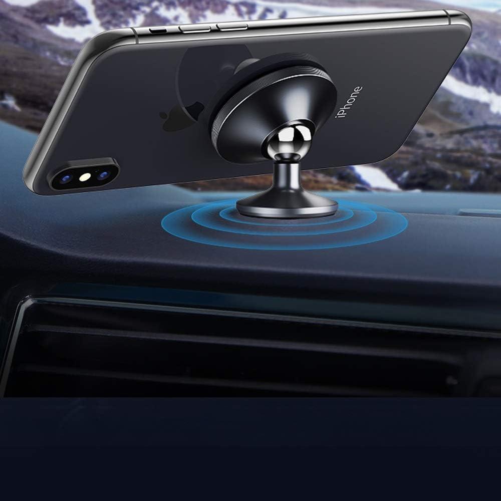 car Dashboard Magnetic Navigation Bracket 360-degree Rotating Universal Mobile Phone Bracket Kkk ligting Strong Magnetic car Bracket Compatible with Various Digital Equipment Brackets