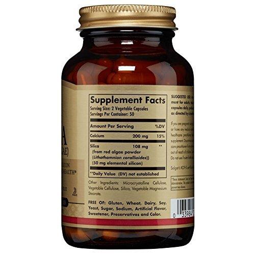 Solgar – Oceanic Silica 25 mg, 100 Vegetable Capsules