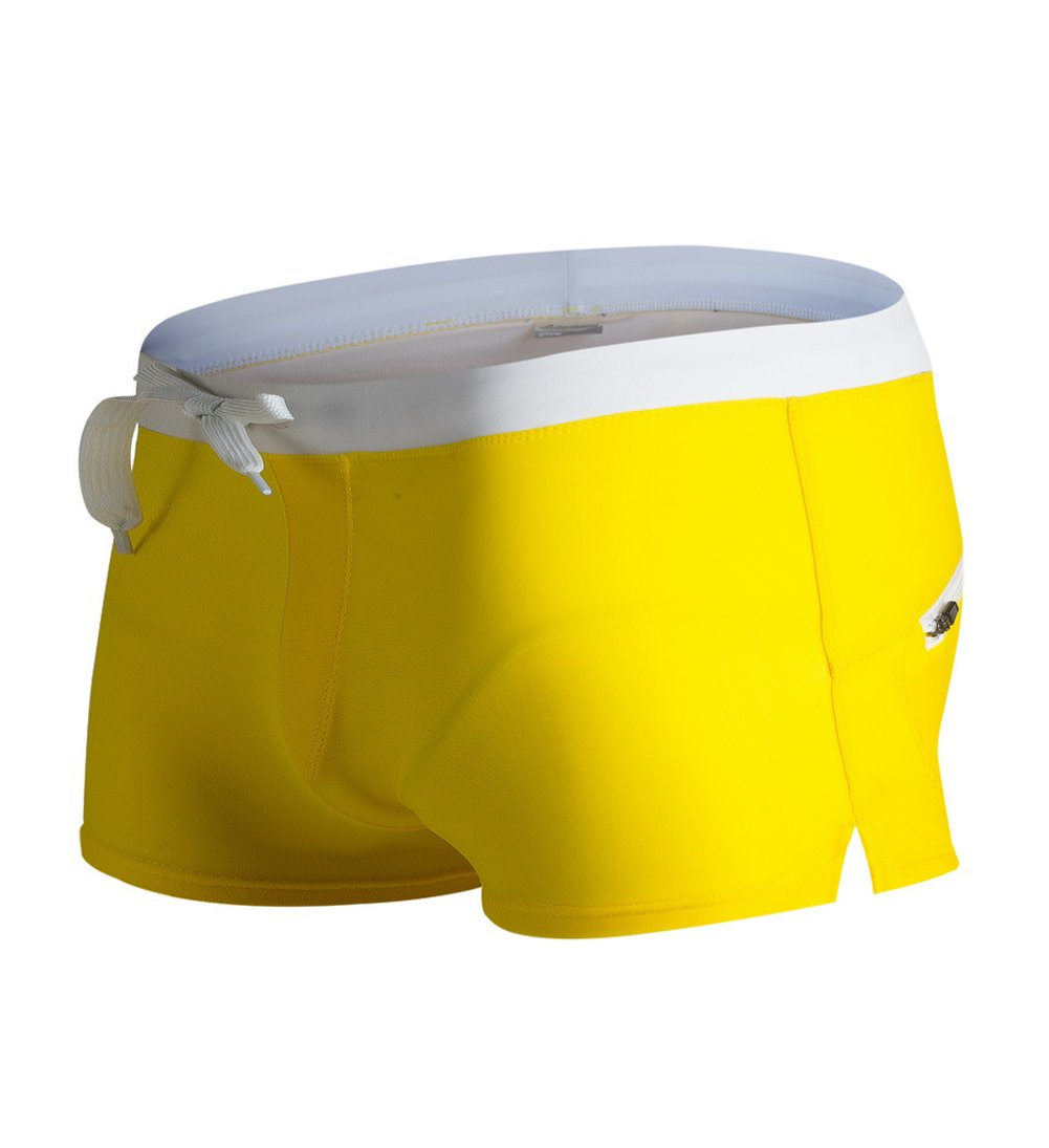 Blugibedramsh Mens Swim Trunks Sports Shorts Boardshorts Training Pants BL-SW-306-01