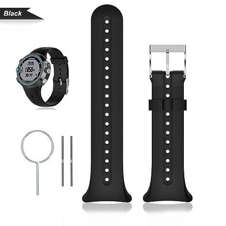 Bemodst Garmin Swim - Correa para reloj de pulsera, silicona, accesorios de reemplazo,