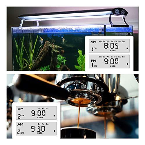 BN-LINK 7 Day Heavy Duty Digital Programmable Grow Timer