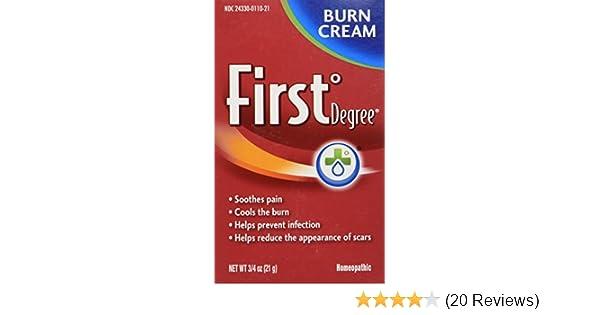 First Degree Burn Cream -  75 oz