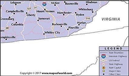 Amazon.com : Kentucky Highway Map (36\