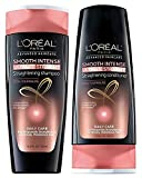L'oreal Paris Advanced Haircare Smooth Intense Polishing Shampoo and Conditioner Set 12.6 Ounces